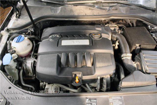 Valve cover gasket replacement Volkswagen Passat B6 1 6 | PITLANER