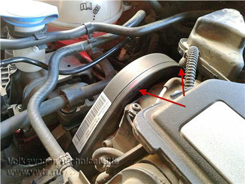 Replacement Of Timing Belt On Vw 16 Bse Pitlaner