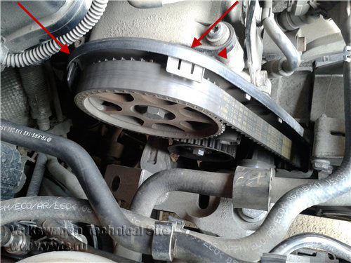 Replacement of timing belt on VW 1 6 BSE | PITLANER